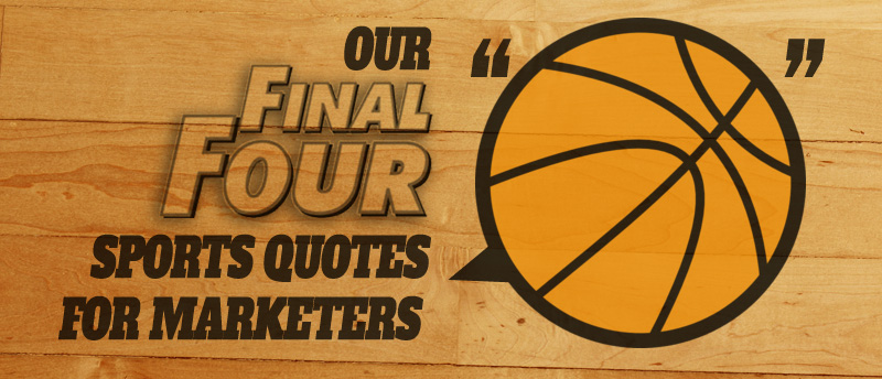 Sports Quotes for Marketers